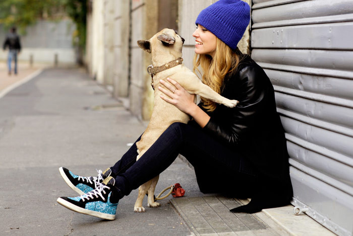 healthy life with dog