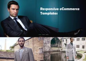 Responsive eCommerce Templates on website