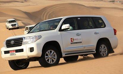 Dubai safari ride