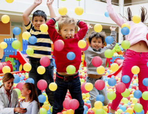 kids need play and entertainment