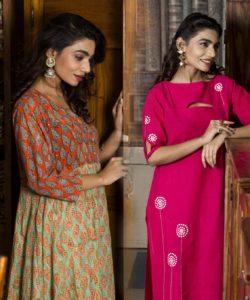 Buy Indo-western kurtis and Cotton Kurtas