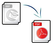 convert ost to pdf