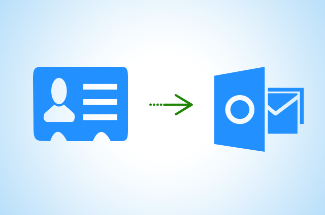 how to create a vcf file in outlook