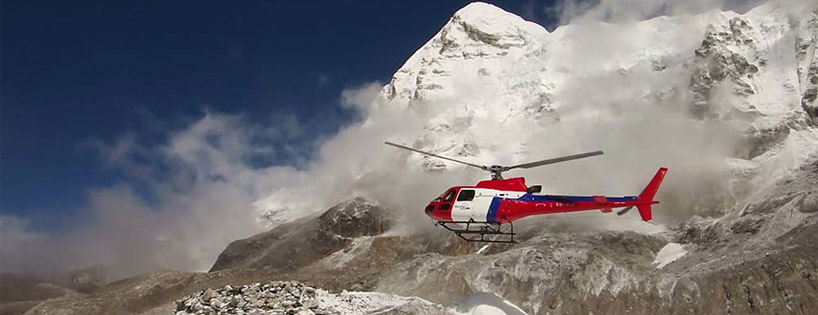 Heli tour in Nepal