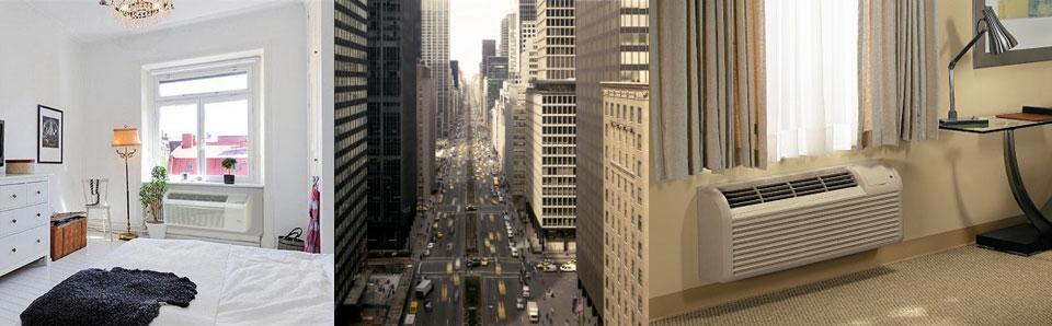 PTAC heating installation Manhattan