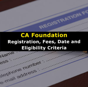 ICAI CA Foundation Registration process for 2019