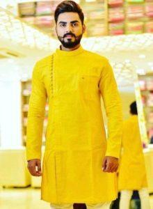 Men's Kurta for Haldi Ceremony