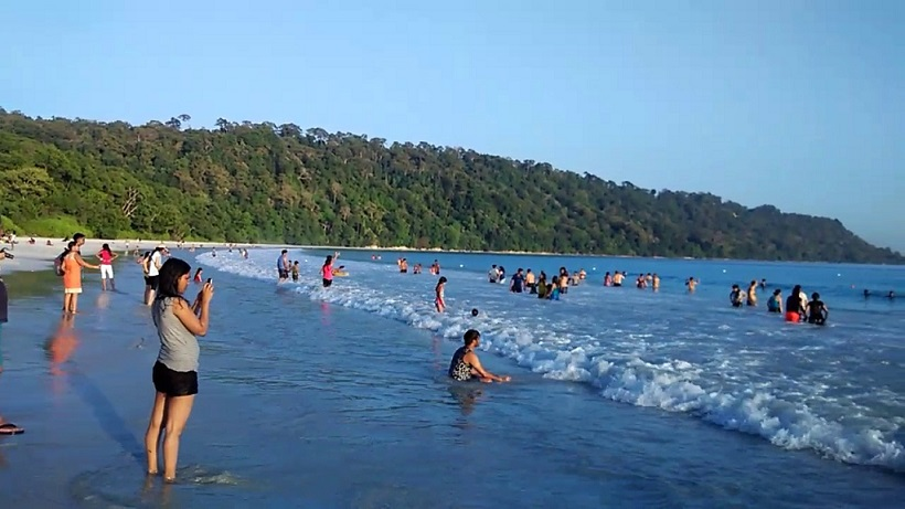 Radhanagar Beach, Havelock Island, Andaman and Nicobar Islands