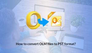 convert olm to pst manually