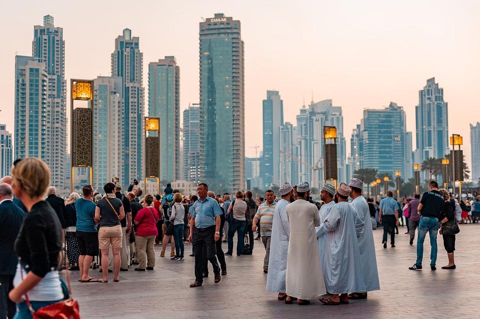 Tourists Visiting Dubai