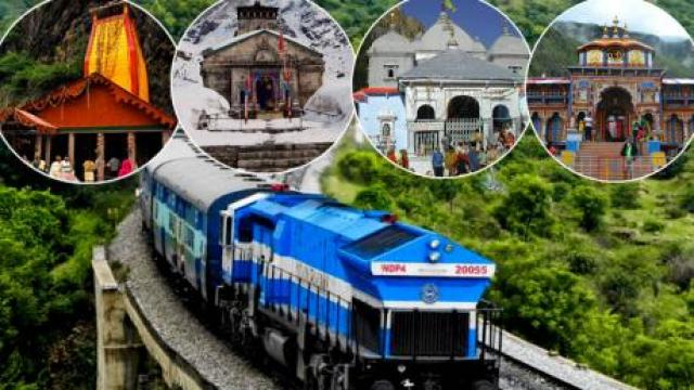 Trains to Haridwar for Chardham Yatra