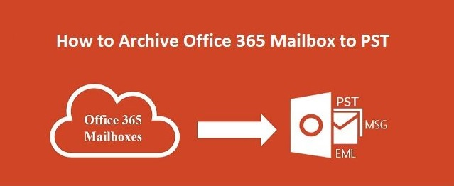 archive Office 365 emails to PST