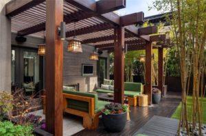 Modern Pergola Designs for a Luxurious Home