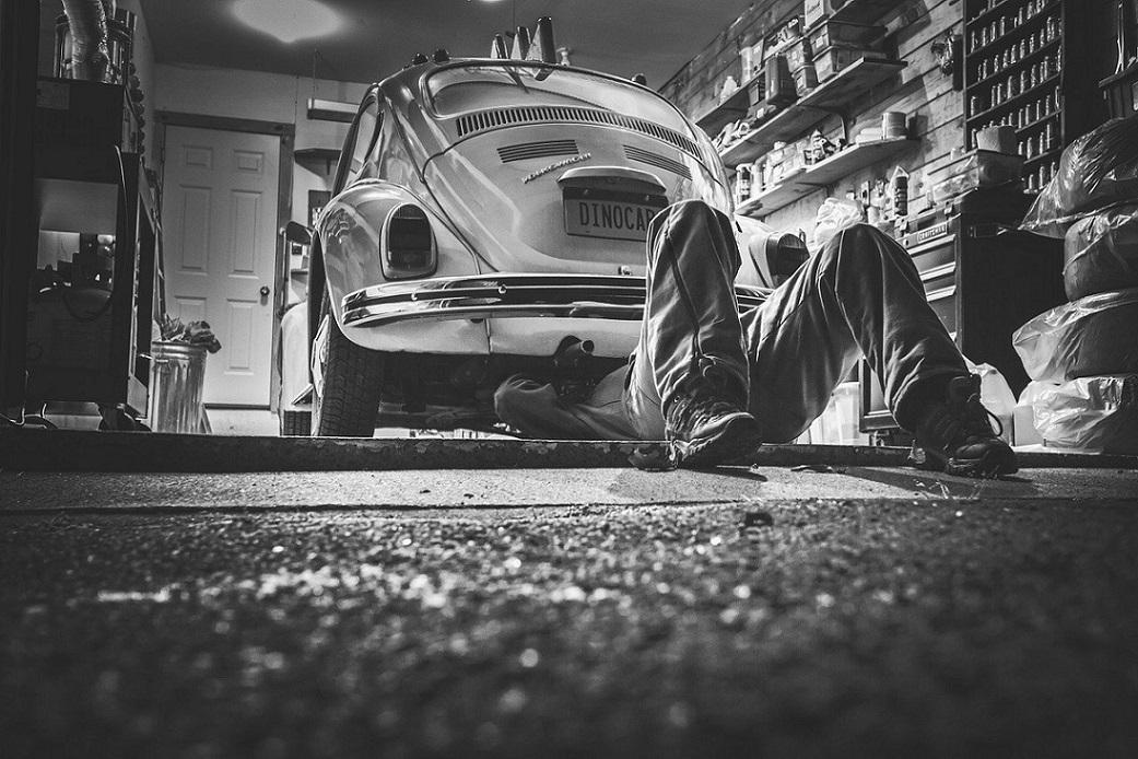 car for maintenance