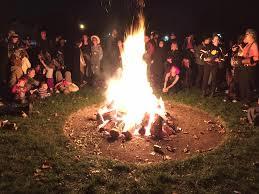Bonfire lighting