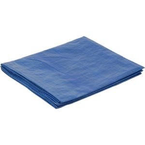 Plastic tarp covers