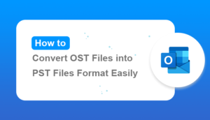 convert ost files into pst format