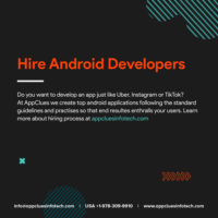Hire Top-Notch Android App Developers in United States (USA)