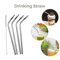 Use Stainless Steel Straws for Advertising Purpose